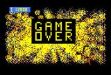 Space Zap Bally Astrocade Game over