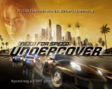 Need for Speed: Undercover PlayStation 2 Title Screen