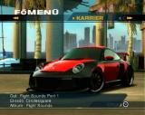Need for Speed: Undercover PlayStation 2 Main Menu