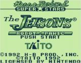 The Jetsons: Robot Panic Game Boy Title screen