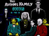 The Addams Family ZX Spectrum Loading screen