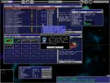 Starship Tycoon Windows Main screen showing a docked ship
