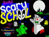 Blinkys Scary School ZX Spectrum Loading screen