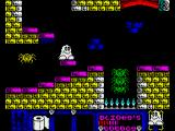 Blinkys Scary School ZX Spectrum Watch out for those spiders
