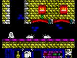 Blinkys Scary School ZX Spectrum Giant rats can by a nuisance...