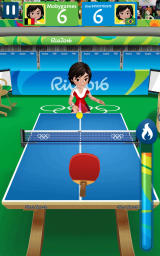 Rio 2016 Olympic Games Android A game of table tennis