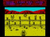 Shoot-Out ZX Spectrum Level 6, 1st part:<br>