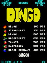 Dingo Arcade Title Screen