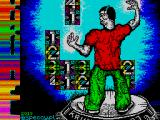 Krunel ZX Spectrum Title screen