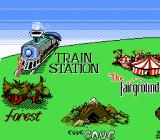 Where's Waldo? NES First level, the Train Station