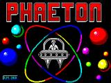 Phaeton ZX Spectrum Title screen