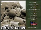 Fortress Europe: The Liberation of France Windows Main Screen