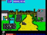 Cabal ZX Spectrum Use the walls as cover