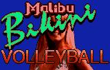 Malibu Bikini Volleyball Lynx Title screen