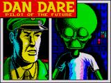 Dan Dare: Pilot of the Future ZX Spectrum Loading screen