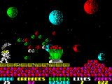 Exolon ZX Spectrum Obstacles and emplacements can be destroyed by grenades