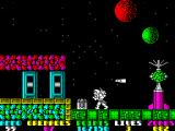 Exolon ZX Spectrum Indestructible rocket is guided by radar device to hit you