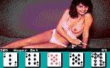 Strip Poker II DOS Winning so far against Suzi... (EGA)