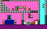 Commander Keen: Invasion of the Vorticons DOS The menu of the shareware game contains a Preview option, this shows later levels in the game such as this