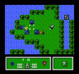 Zoids: Mokushiroku NES Starting a new game
