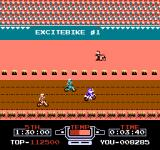 Vs. Excitebike NES Racing against other players