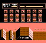 Vs. Excitebike NES Track editor