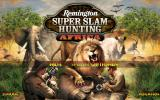 Remington Super Slam Hunting: Africa Windows Title screen