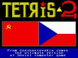 Tetris 2 ZX Spectrum Title screen