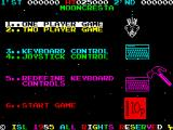 Moon Cresta ZX Spectrum Options