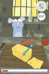 Disney•Pixar Ratatouille Nintendo DS Cutting the cheese (Hurry, time's running out!)