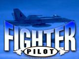 Fighter Pilot Windows The title screen