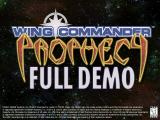Wing Commander: Prophecy Windows Title screen: demo version
