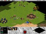Age of Empires Macintosh Starting to build out the main base camp