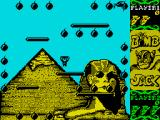 Bomb Jack ZX Spectrum Thew first level is in Egypt