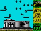 Bomb Jack ZX Spectrum Collect the power ups