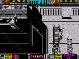 Double Dragon II: The Revenge ZX Spectrum Climb the ladders