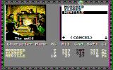 Tales of the Unknown: Volume I - The Bard's Tale DOS Selecting our party (CGA Composite)