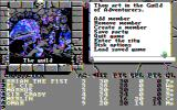 The Bard's Tale II: The Destiny Knight DOS Staying at the local guild (CGA Composite)