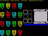 Bloodwych ZX Spectrum Select your character