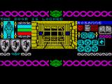 Bloodwych ZX Spectrum A locked door bars you path