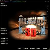 Ball Breaker 3D Windows Title screen
