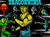Bad Dudes ZX Spectrum Loading Screen