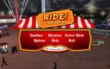 Ride! Carnival Tycoon Windows The game's menu