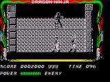 Bad Dudes ZX Spectrum Ninjas are quick