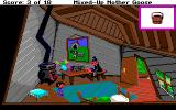 Mixed-Up Mother Goose Amiga Inside the Crooked Man's house.