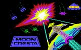 Moon Cresta Commodore 64 Title screen