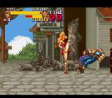 Final Fight 2 SNES Maki is the fastest of the three characters - and she doesn't seem to like wearing underwear