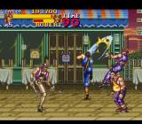 Final Fight 2 SNES France - Carlos is using his special attack