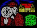 Madcap Manor ZX Spectrum Title screen