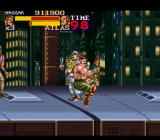 Final Fight 2 SNES England - Fighting on top of a train